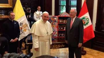 El Papa Francisco se reunió con el Presidente de Perú