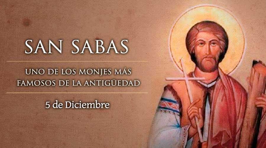 San Sabas, presbítero y abad