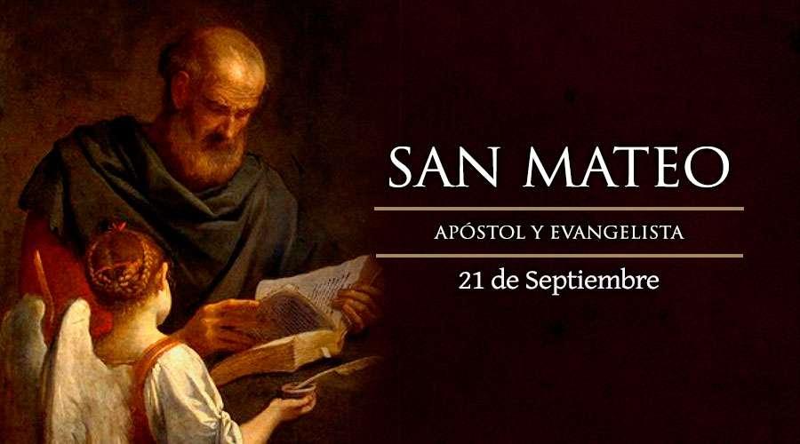 Cada 21 de septiembre la Iglesia Católica recuerda la figura de San Mateo