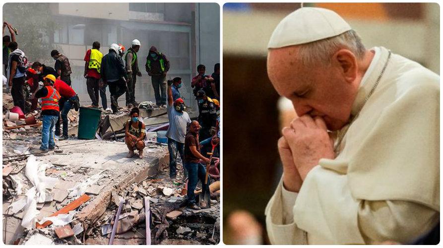 La ayuda se distribuirá por medio de la Nunciatura Apostólica