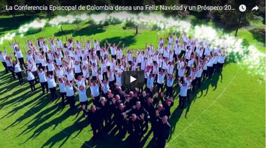 video de navidad conferencia episcopal de colombia